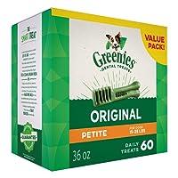 GREENIES Original Petite Dog Dental Chews Dog Treats