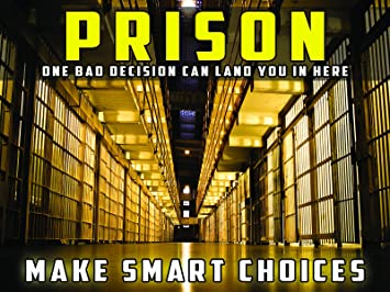 Amazon.com: Póster de prevención de la delincuencia jóvenes ...