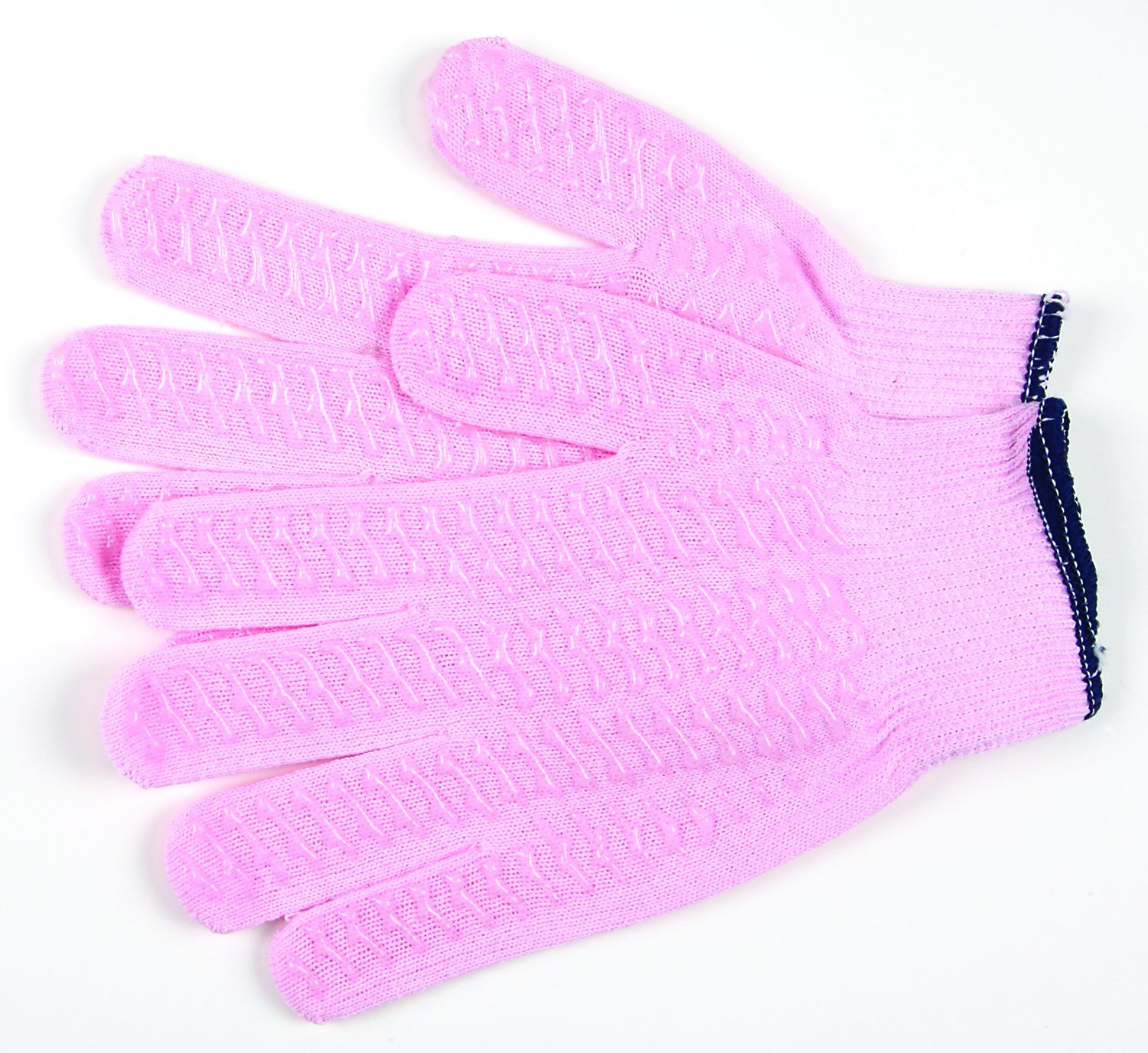 MCR Safety 9614PXS Cotton/Polyester 13-Gauge String Knitted Multi-Purpose Gloves with Continuous Cuff, Pink, X-Small, 1-Pair by MCR Safety B009A5FSXK