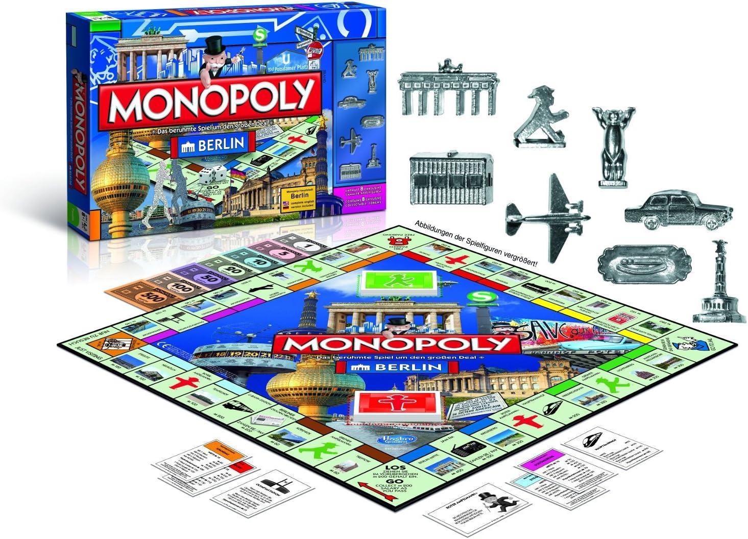 Winning Moves Monopoly Berlin (Alemán / Inglés), Edición Nueva 2015 - 43485: Amazon.es: Juguetes y juegos