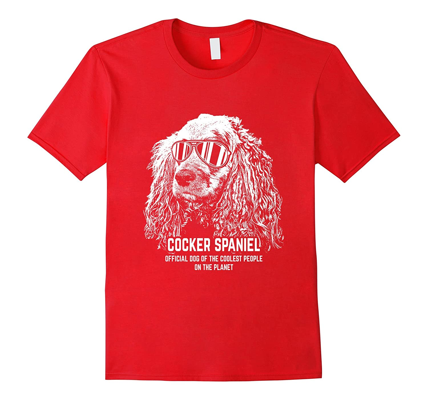 Cocker Spaniel Shirt Official Dog of the Coolest People-Art