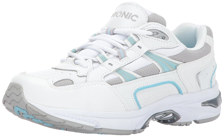Zapatos clásicos Vionic para caminar para mujer 6.5 B(M) US|Blanco/Azul