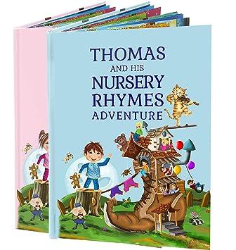 Amazon.com: Personalizada de los niños Book of Nursery ...