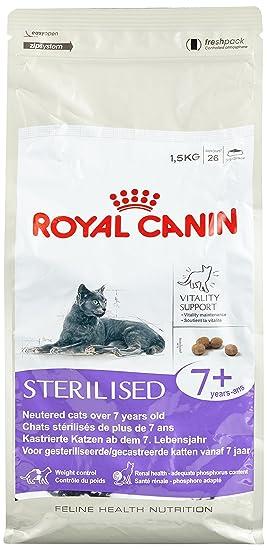 ROYAL CANIN Feline Sterilised 7-1500 gr: Amazon.es: Productos para mascotas