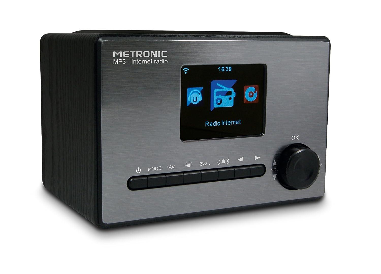 Metronic 477260 Radio Connect E Internet Wi Fi Usb 5 W Noir Amazon
