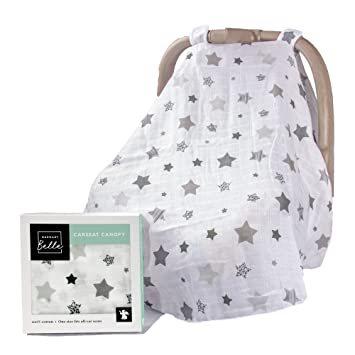 Barnaby Belle Night Baby Carseat Canopy Covers Girls Or Boys Infant Car Seat Cover Holiday Gifts