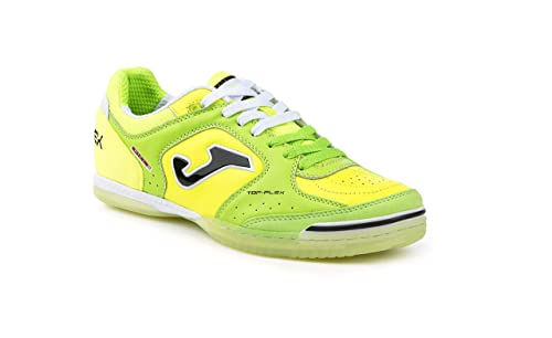 Zapatilla de fútbol sala Joma Top Flex Verde-Amarillo: Amazon.es: Zapatos y complementos