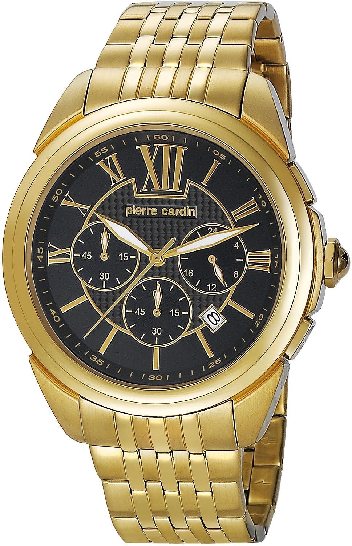 Pierre Cardin Herren-Armbanduhr Kaleidoscope Homme Chrono Chronograph Quarz Edelstahl PC104931F05