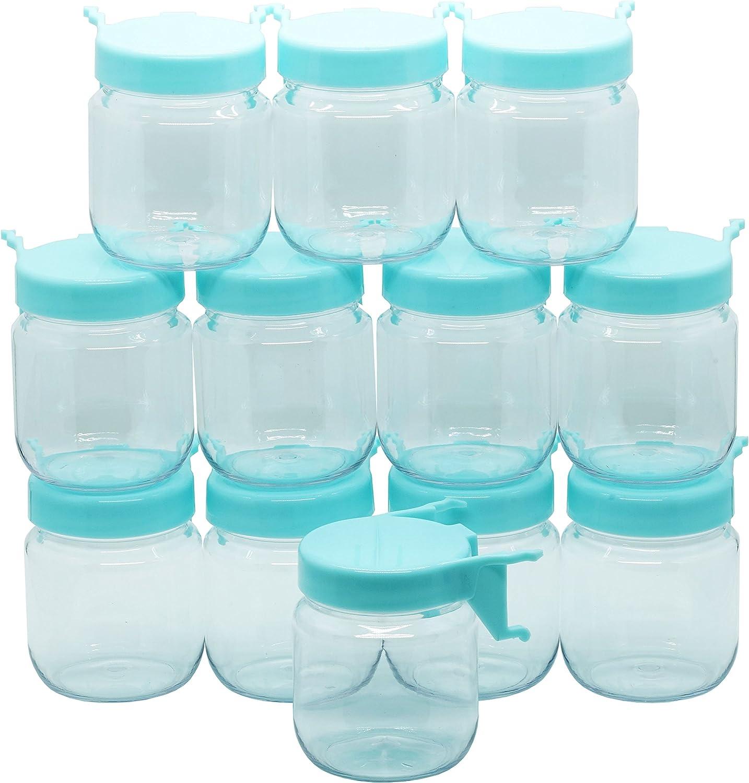 Menecor 4PCS Pegboard Bin Kit Pegboard Jar Holder Pegboard Accessories Hook Holders for Storage Jars Bins Organizer Tool