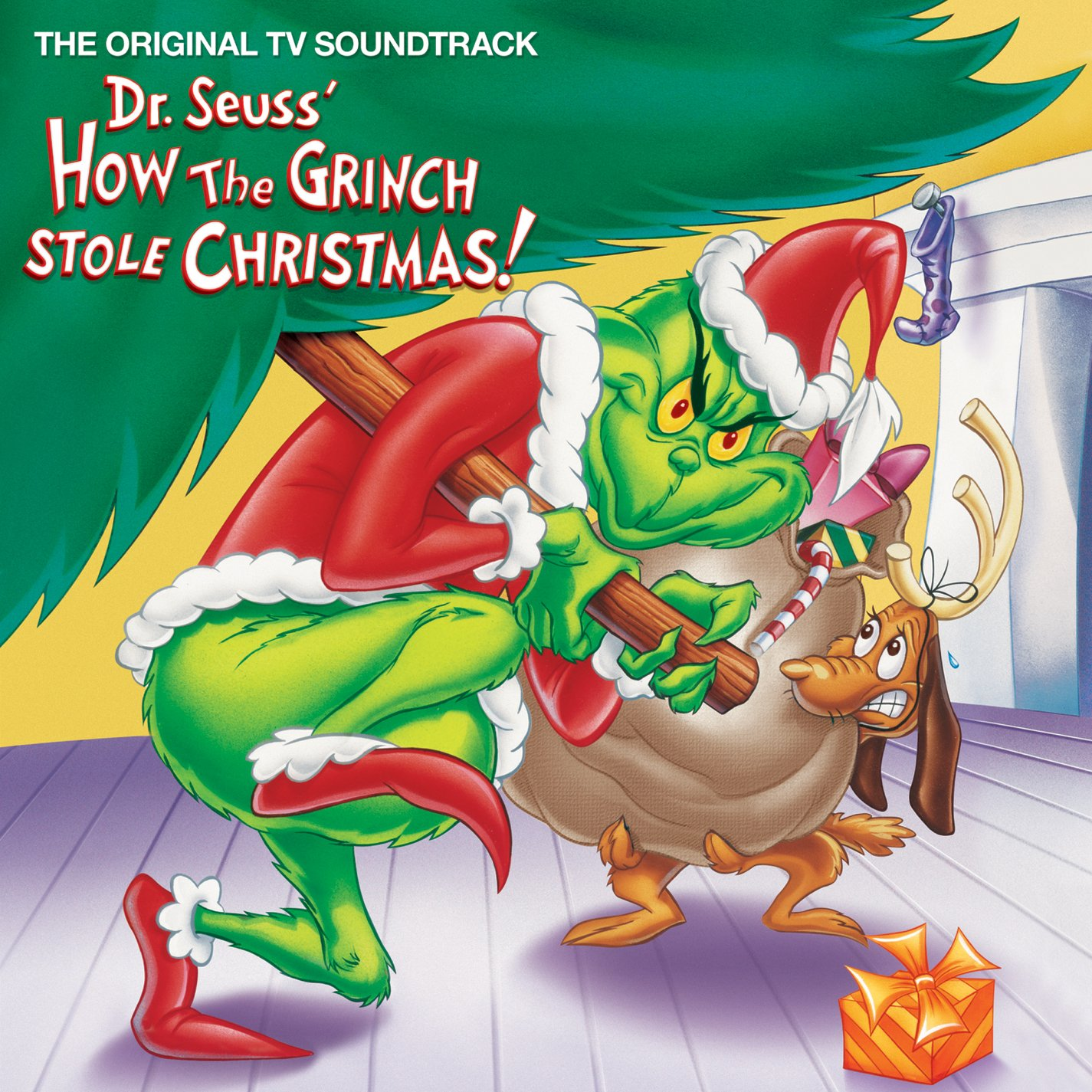 dr seuss how the grinch stole christmas limited edition green vinyl lp rsd new - Dr Seuss How The Grinch Stole Christmas