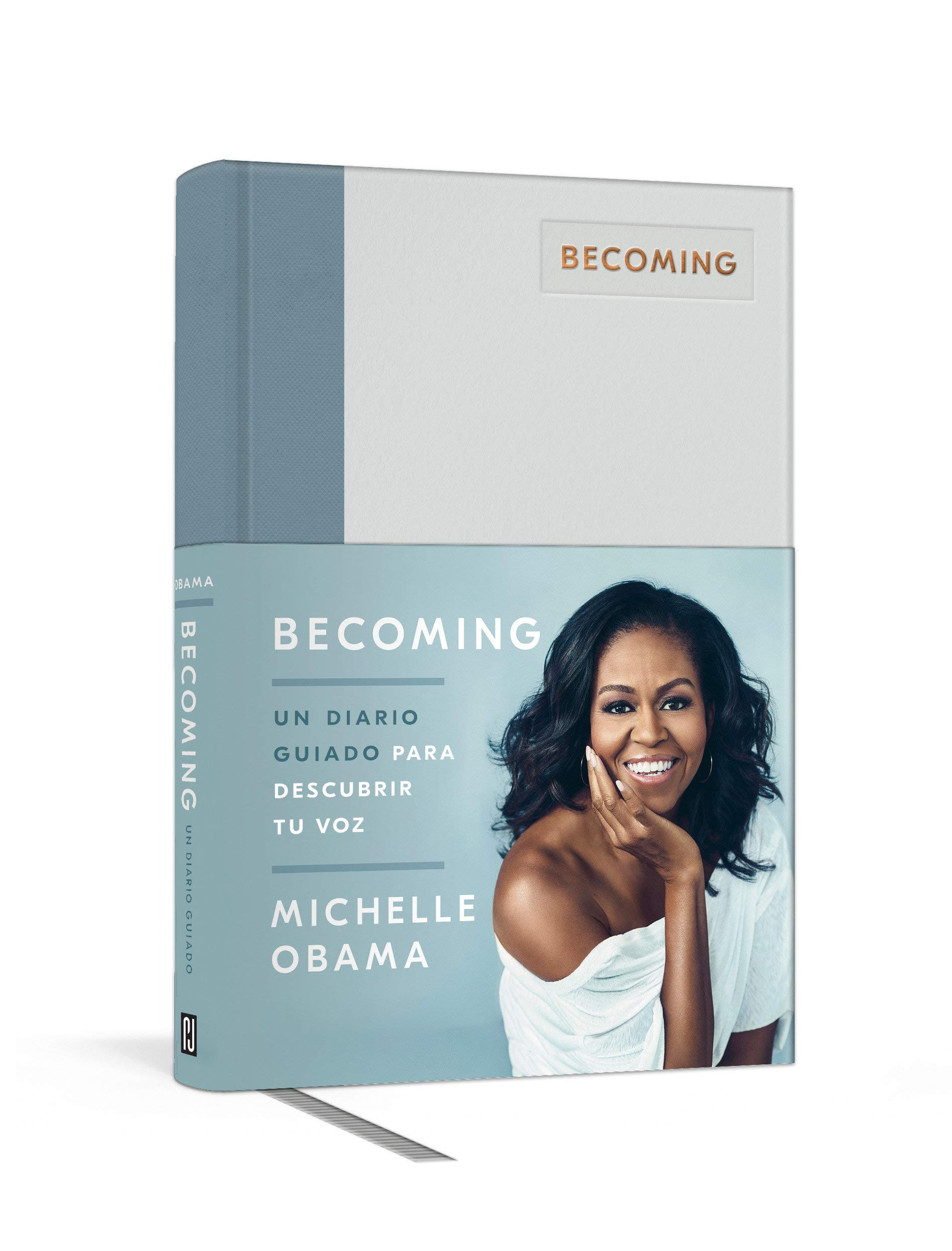 Becoming. Un diario guiado / Becoming: A Guided Journal for Discovering Your Voice (Spanish Edition)