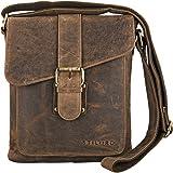 af0c81211418ca STILORD 'Mattia' kleine Umhängetasche Herren Leder Vintage iPad Hülle 10,1 Zoll  Tablettasche