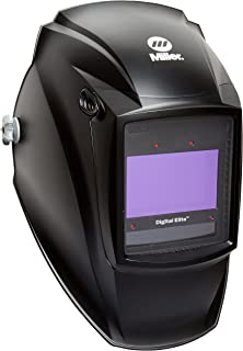 Auto Darkening Welding Helmet, Black, Digital Elite, 3, 5 to 8/