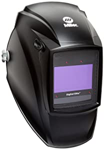 Auto Darkening Welding Helmet, Black, Digital Elite, 3, 5 to 8/8 to 13 Lens Shade