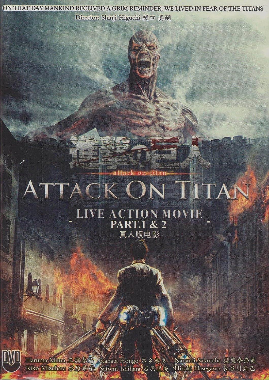 Amazon.com: Japanese Movie : Attack On Titan Live Action ...
