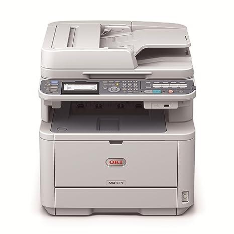OKI MB471NDW - Impresora multifunción (laser, mono, 33 ppm, 1200 x ...