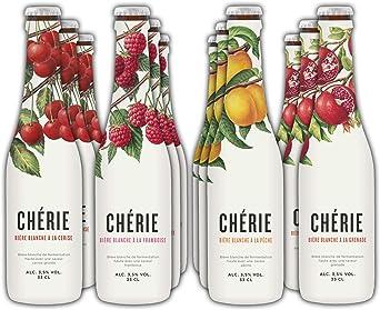 Chérie - Cerveza de Trigo con Sabor (Pack degustación): Amazon.es ...