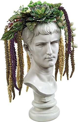 Design Toscano Bust Planter of Antiquity Statue
