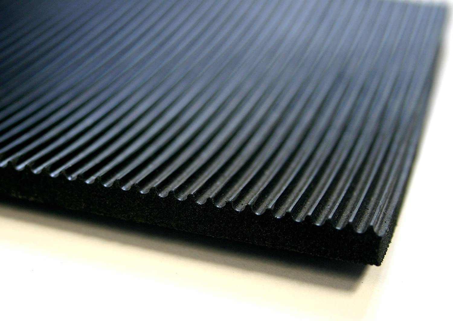 Electrical Switchboard Rubber Matting - 1m Wide x 9.5mm thick Heavy Duty - 15kV Tested Non-Slip Safety Mat (1m Length) Thorne