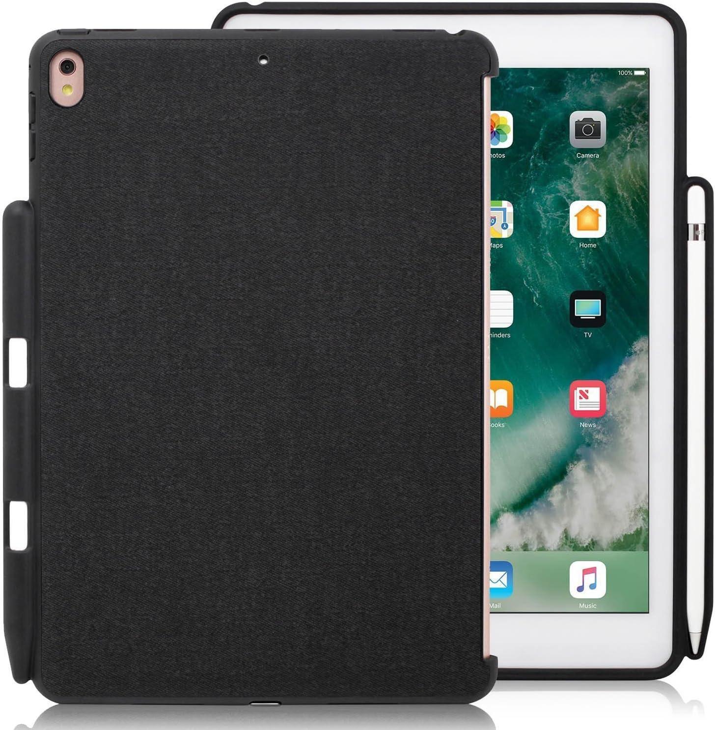 KHOMO Carcasa Trasera Funda para Apple iPad Pro 9,7 Pulgadas - Compatible con Smart Keyboard y Smart Cover - Soporte para Apple Pencil - iPad Pro 9,7 ...