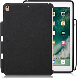 KHOMO - Compatible with iPad Pro 9.7 Inch Back Cover - Companion Cover - with Pen Holder - Perfect Match for Smart Keyboard.