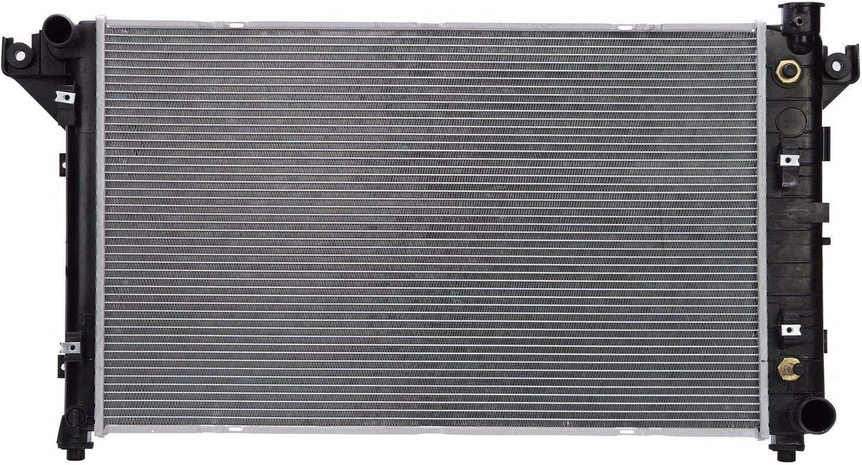 Klimoto Radiator   fits Dodge Ram 1500 1994-2001 2500 3500 1994-1997 3.9L V6 5.2L 5.9L V8   Replaces CH3010150 52006491 52006491AB 52006491AC