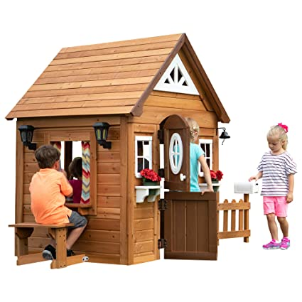 Amazoncom Backyard Discovery Aspen All Cedar Outdoor Wooden