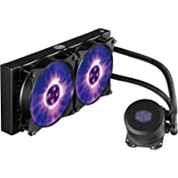 Cooler Master MasterLiquid ML240L RGB CPU Water Cooler 'Radiateur de 240mm, All-In-One, LED RGB' MLW-D24M-A20PC-R1