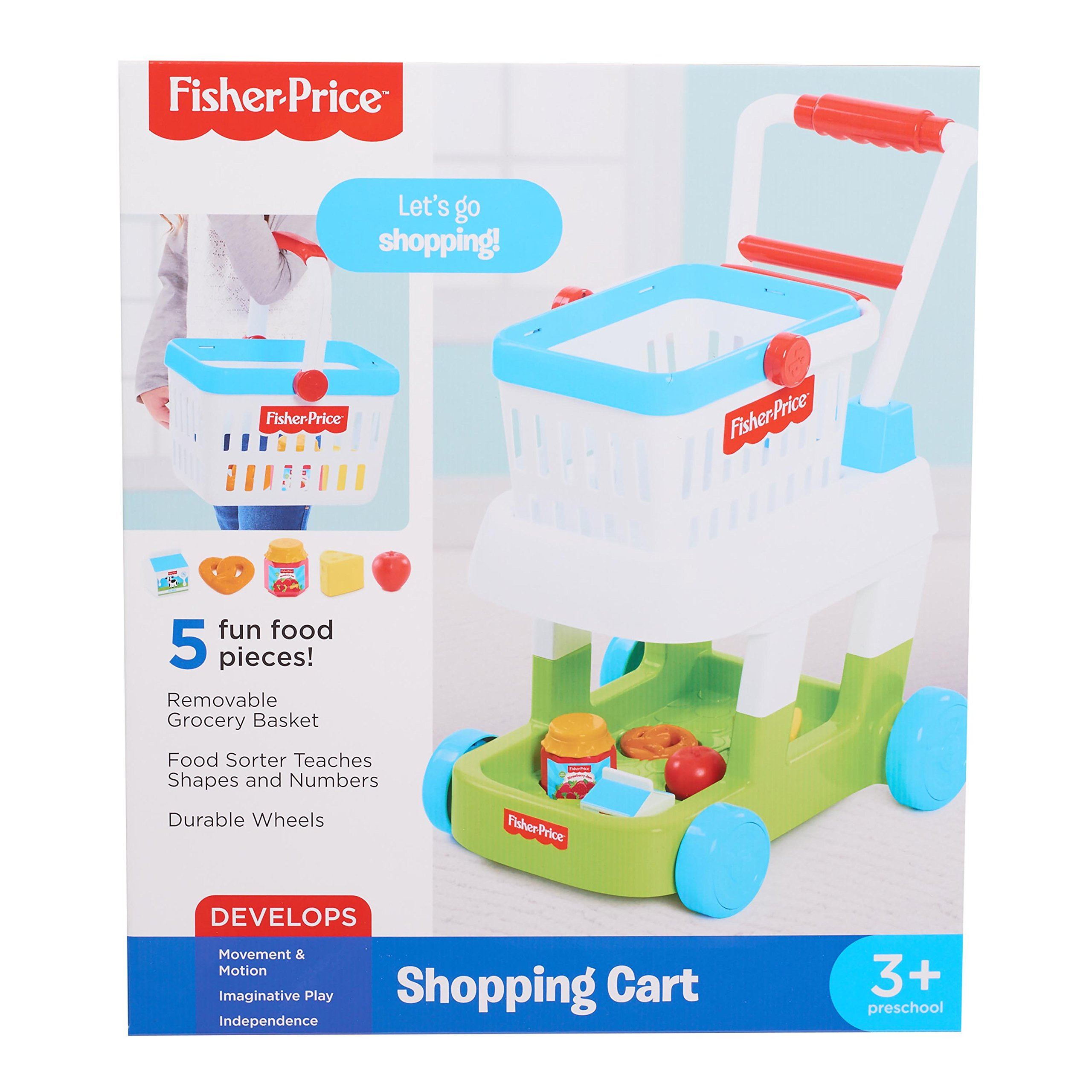 Fisher-Price 93525 Shopping Cart Toys, Multicolor by Fisher-Price (Image #7)