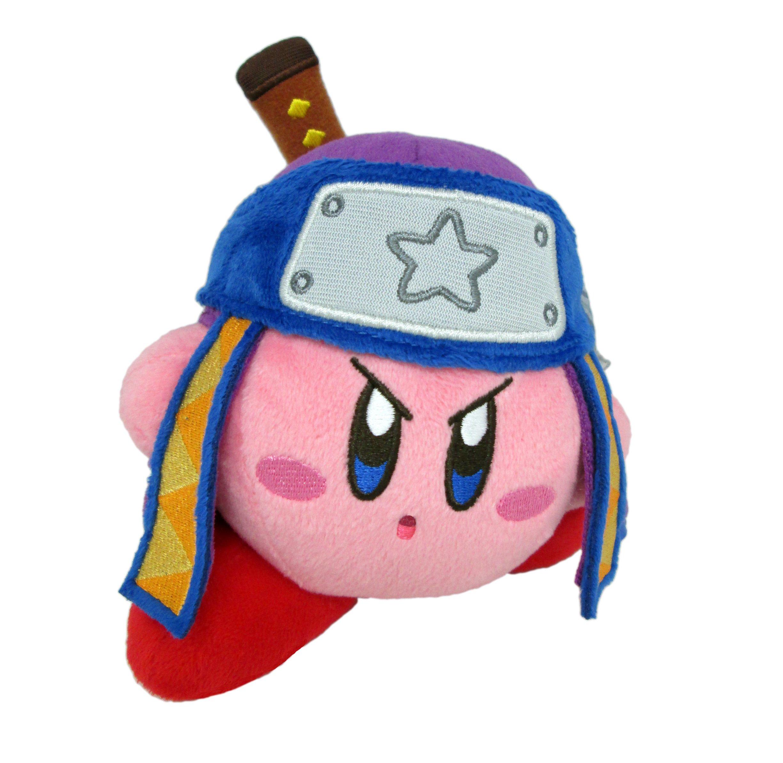 Little Buddy Kirby's Adventure All Star Collection Kirby Ninja Stuffed Plush, 5'' by Little Buddy