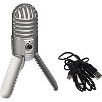 Samson Meteor USB-microfoon - Ouder Geborsteld nikkel