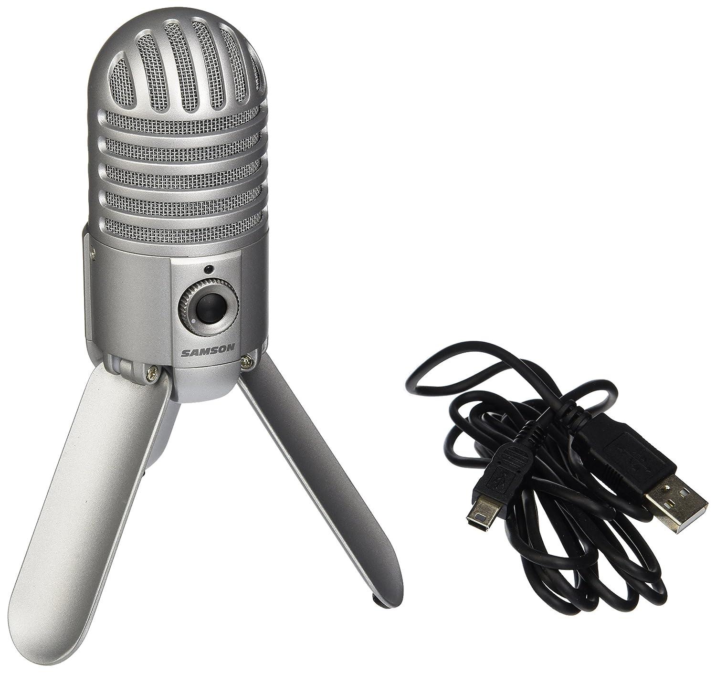 Samson Meteor Mic USB Studio Microphone (Brushed Nickel) Samson Technologies SAMTRS