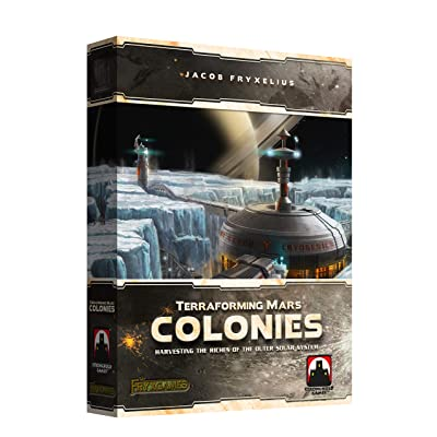 Stronghold Games Terraforming Mars The Colonies: Toys & Games