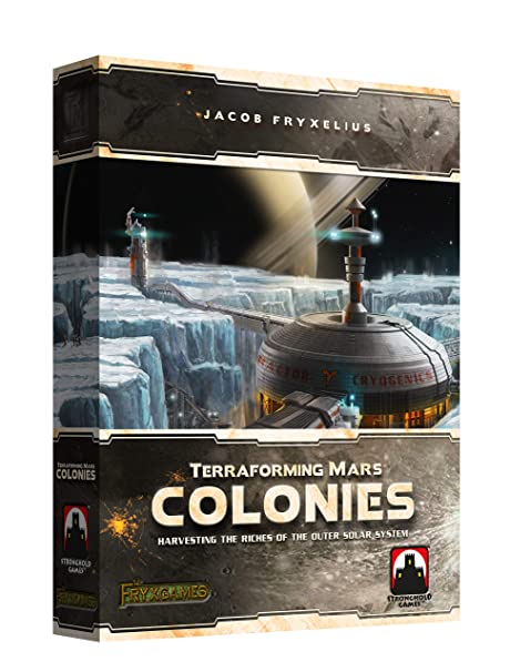 Stronghold Games 7203SG Terraforming Mars The Colonies