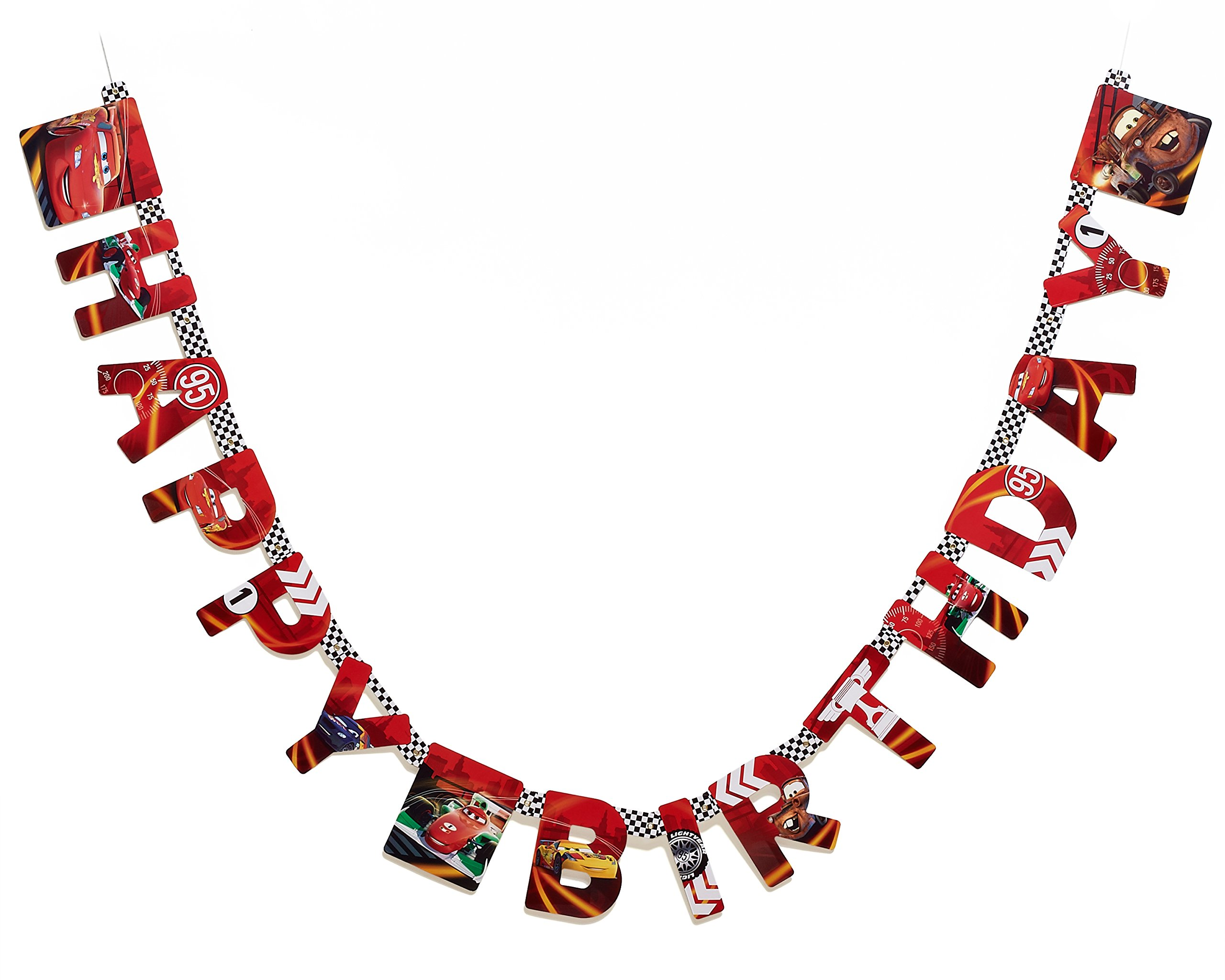Designware Cars Birthday Party Banner, Party Supplies
