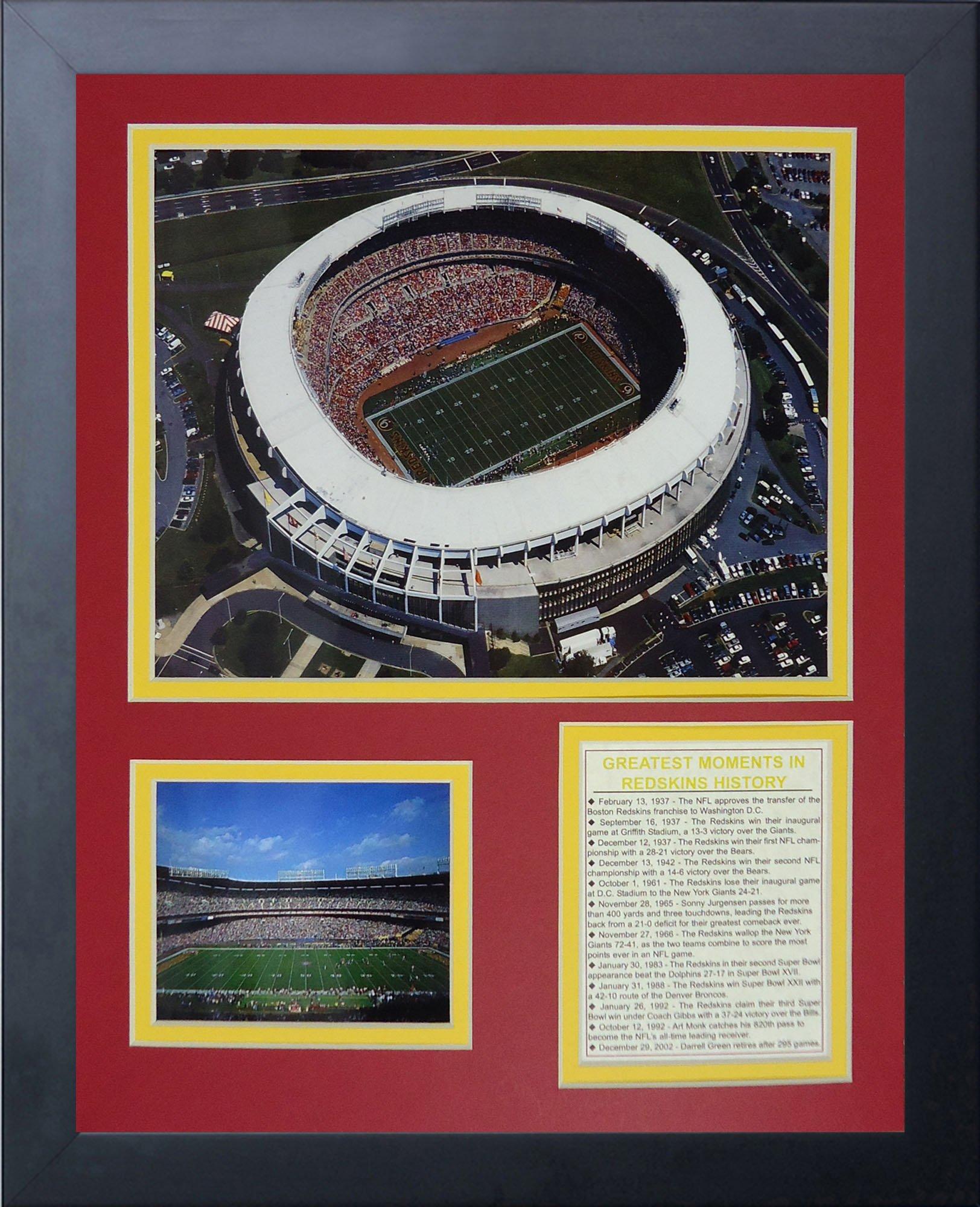 Legends Never Die RFK Stadium Framed Photo Collage, 11x14-Inch by Legends Never Die