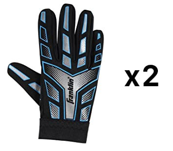 Franklin Sports Youth Junior Receiver Receiving Football Gloves