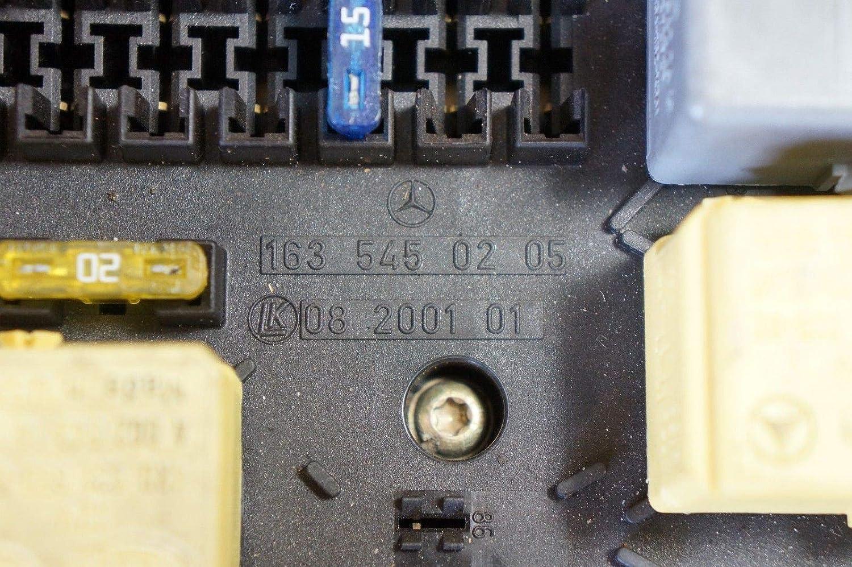 98 Mercedes Ml320 Ml500 Ml430 Main Relay Fuse Box 163 545 Automotive