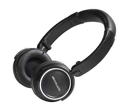 Vivanco 34897 - Auriculares de diadema cerrados con micrófono, Bluetooth, color negro