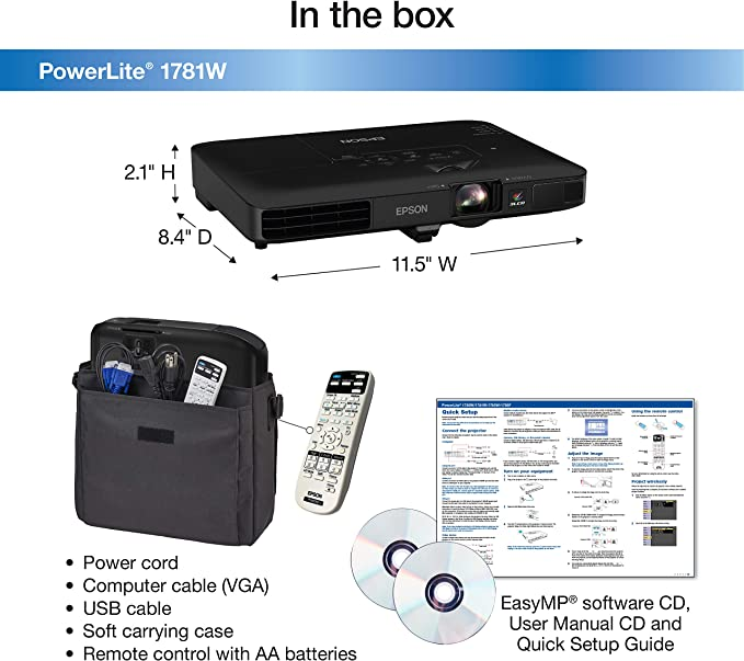 Video Projector Case For Epson Home Cinema 2000 Epson PowerLite 1781W and More