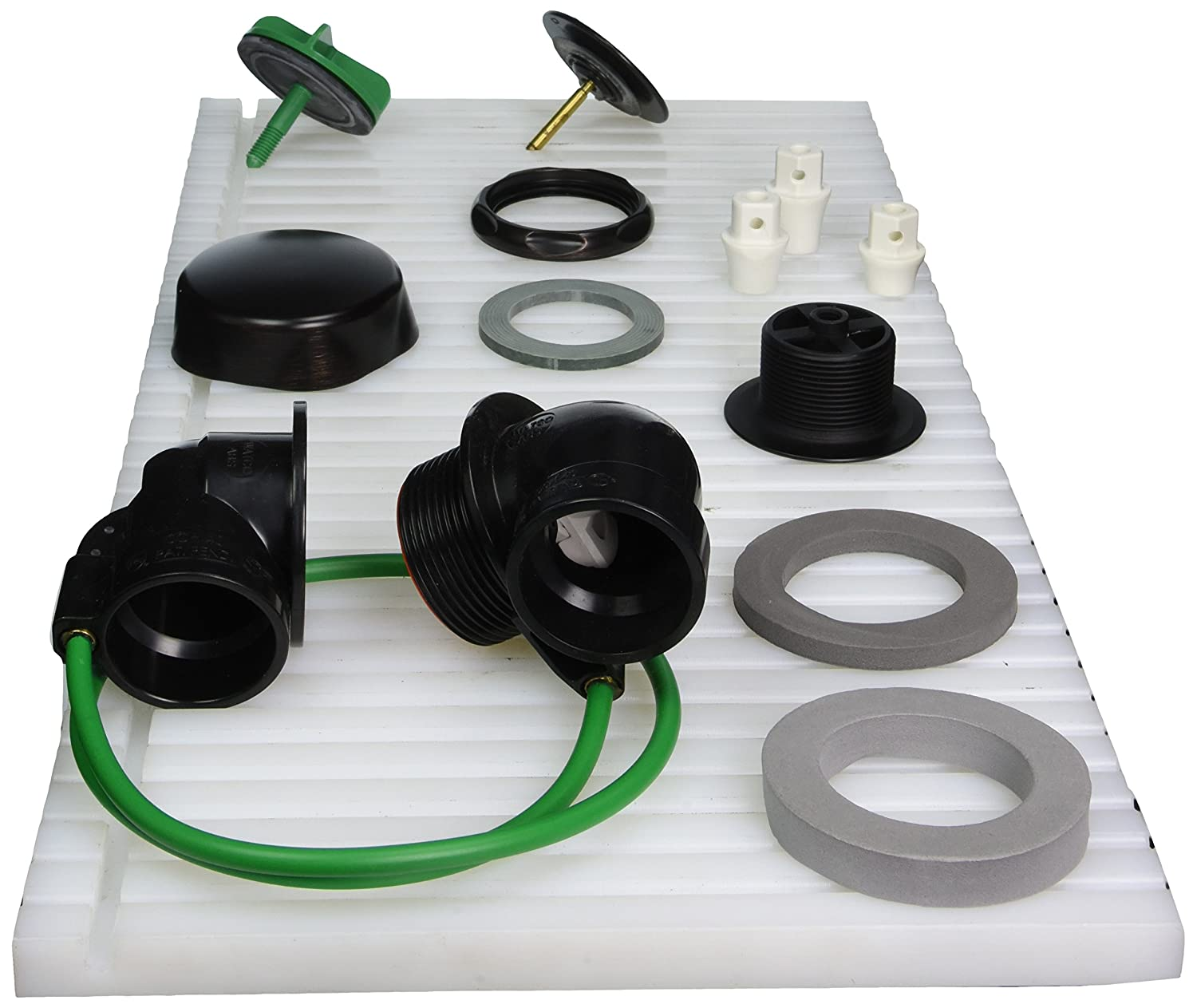 Chrome Plated Watco Manufacturing 981-CA-ABS-CP 1.5-Inch Schedule 40 ABS Piping Innovator Cable Bath Waste Half Kit