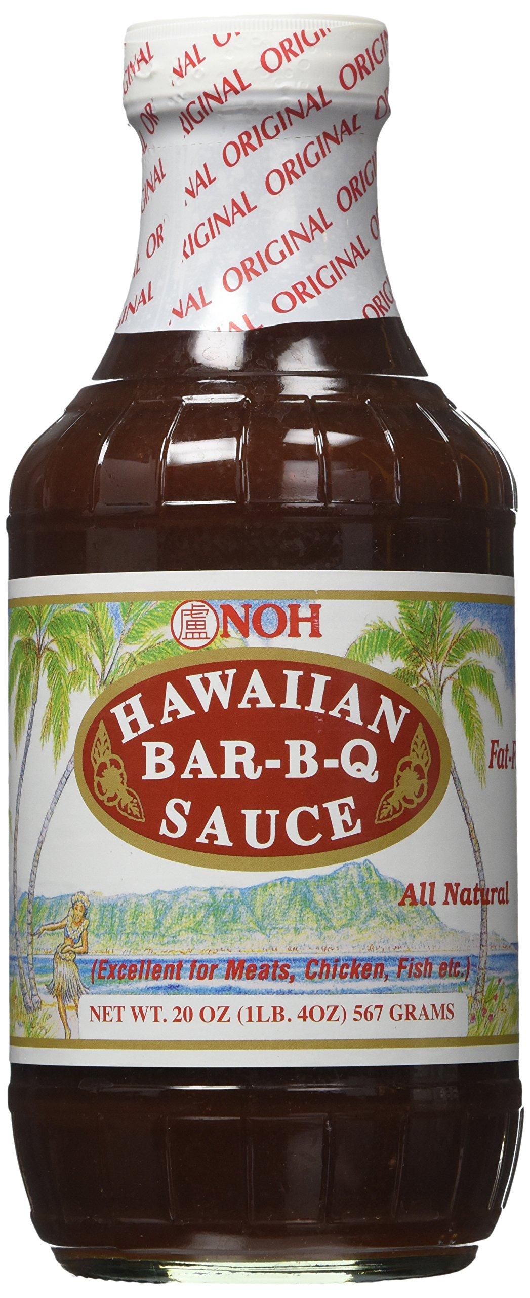 Noh Foods Hawaiian Bar-B-Q BBQ Sauce 20 ounce Bottle