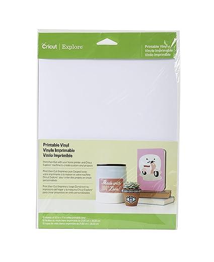 Cricut Vinilo imprimible para troquelados: Amazon.com.mx: Hogar y Cocina