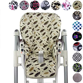 Cool Bambiniwelt Replacement Seat Cushion Cover For Highchair Peg Machost Co Dining Chair Design Ideas Machostcouk