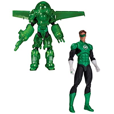 DC Collectibles DC Comics Icons: Green Lantern Hal Jordan Dark Days Deluxe Action Figure: Toy: Toys & Games