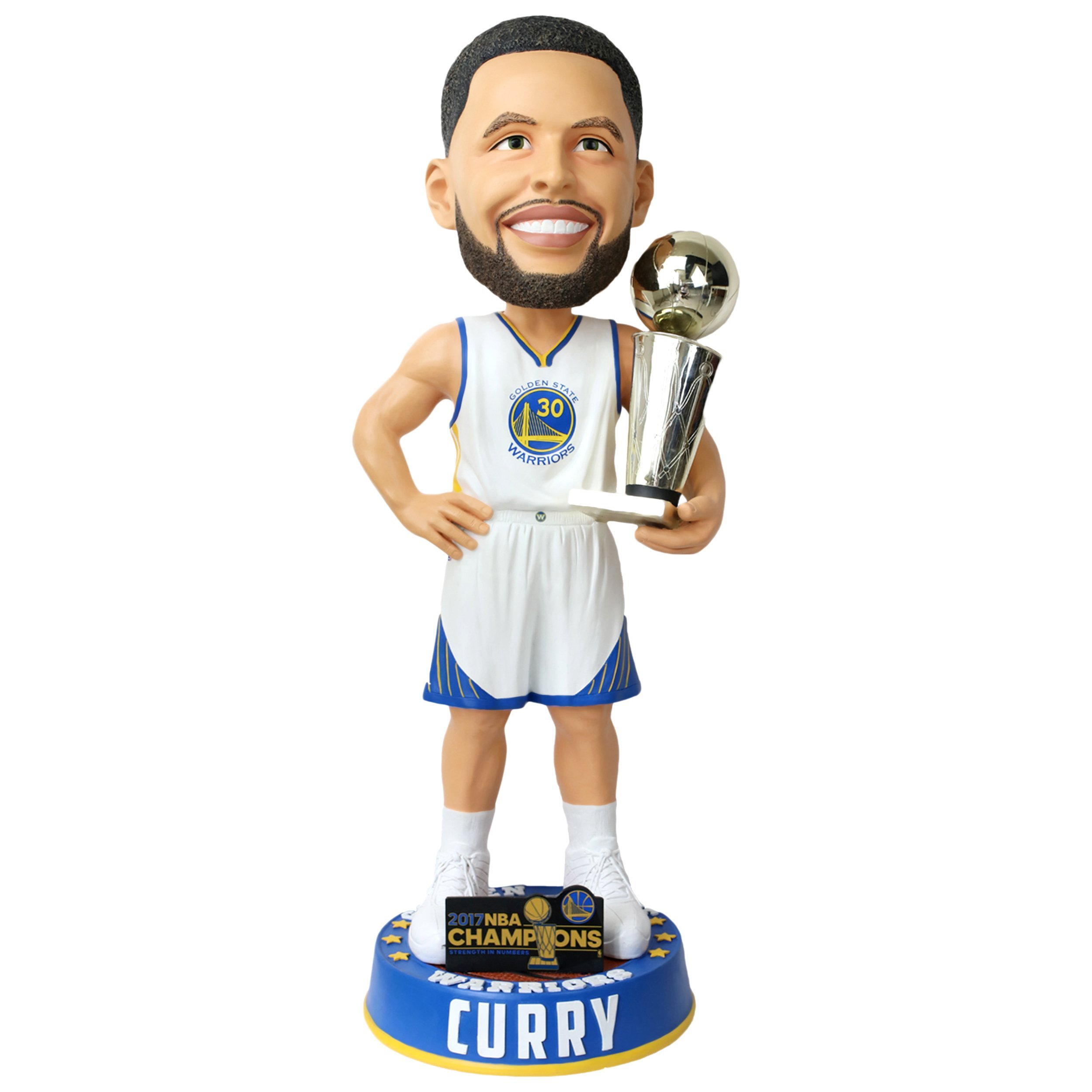 FOCO GOLDEN STATE WARRIORS CURRY S. #30 2017 NBA CHAMPIONS 36'' BOBBLE
