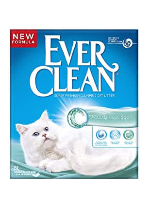 Ever Clean Aqua Breeze, Arena para Gatos, atrapa el Olor, 6 L: Amazon.es: Productos para mascotas