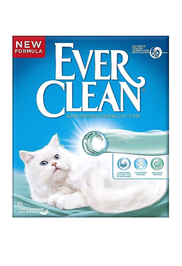 3 opinioni per Ever Clean Aqua Breeze Lettiera per gatti, 6litri