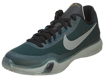 Nike Kobe X 10 GS Basketball Shoes Sneaker Childrens shoes gray / black /  green,
