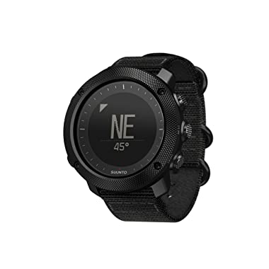 Suunto Traverse Alpha GPS Watch, Stealth (SS022469000)